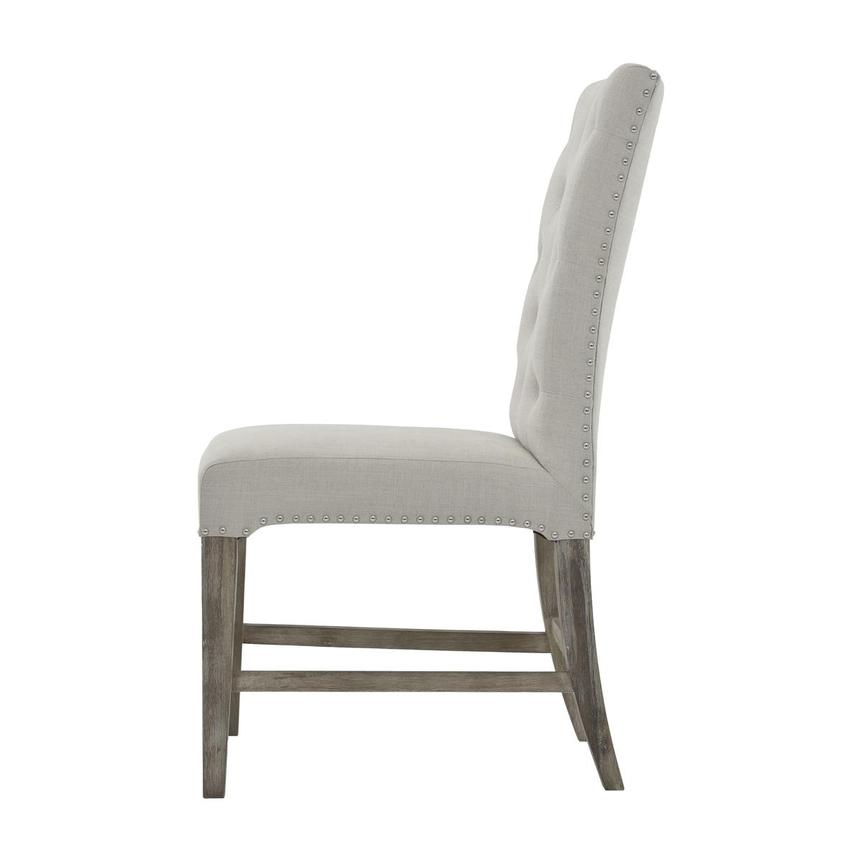Beltran Gray Side Chair  alternate image, 3 of 7 images.
