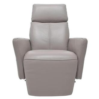 Don Gray Power Motion Leather Recliner