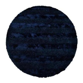 Fusion Navy 8' Round Area Rug