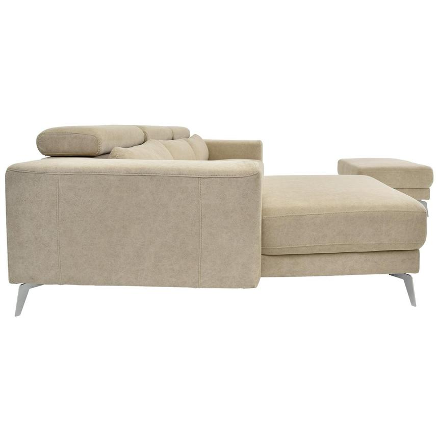 Tyler Sofa w/Left Chaise & Ottoman  alternate image, 3 of 6 images.
