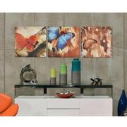 Papillon Set of 3 Acrylic Wall Art  alternate image, 2 of 5 images.