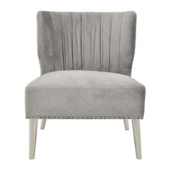 Palermo Gray Accent Chair