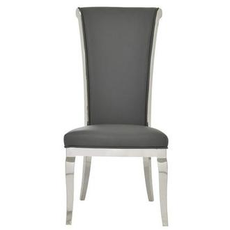 Joy Gray Side Chair