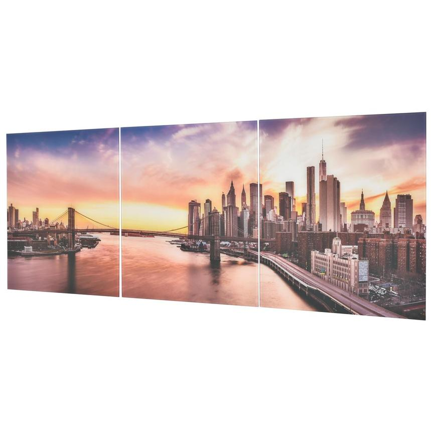 New York Set of 3 Acrylic Wall Art  alternate image, 2 of 3 images.