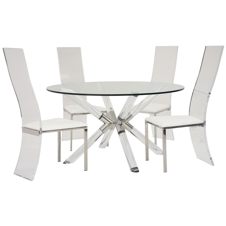 Ace/Layra 5-Piece Dining Set  main image, 1 of 9 images.