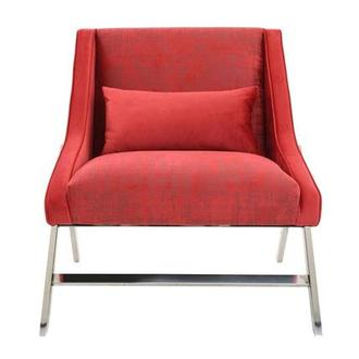 Aliany Red Accent Chair