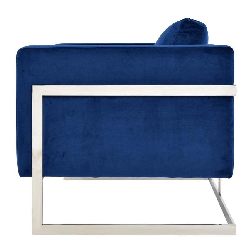 Emily Blue Accent Chair El Dorado Furniture
