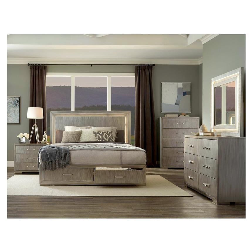 Parker 4 Piece Queen Bedroom Set El, El Dorado Furniture Bedroom Set
