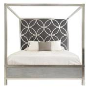 Chic King Canopy Bed  main image, 1 of 6 images.
