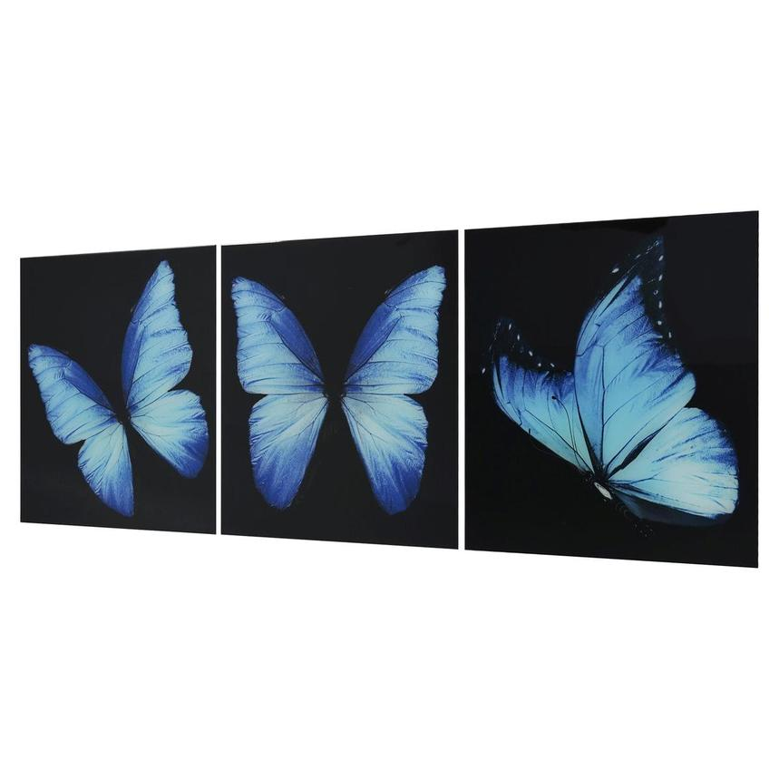 Morpho Set of 3 Acrylic Wall Art  alternate image, 3 of 5 images.