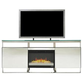 Calypso Mirror Faux Fireplace w/Remote Control