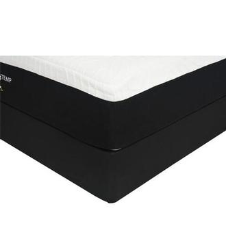 Doral King Mattress w/Regular Foundation by Sealy Posturepedic
