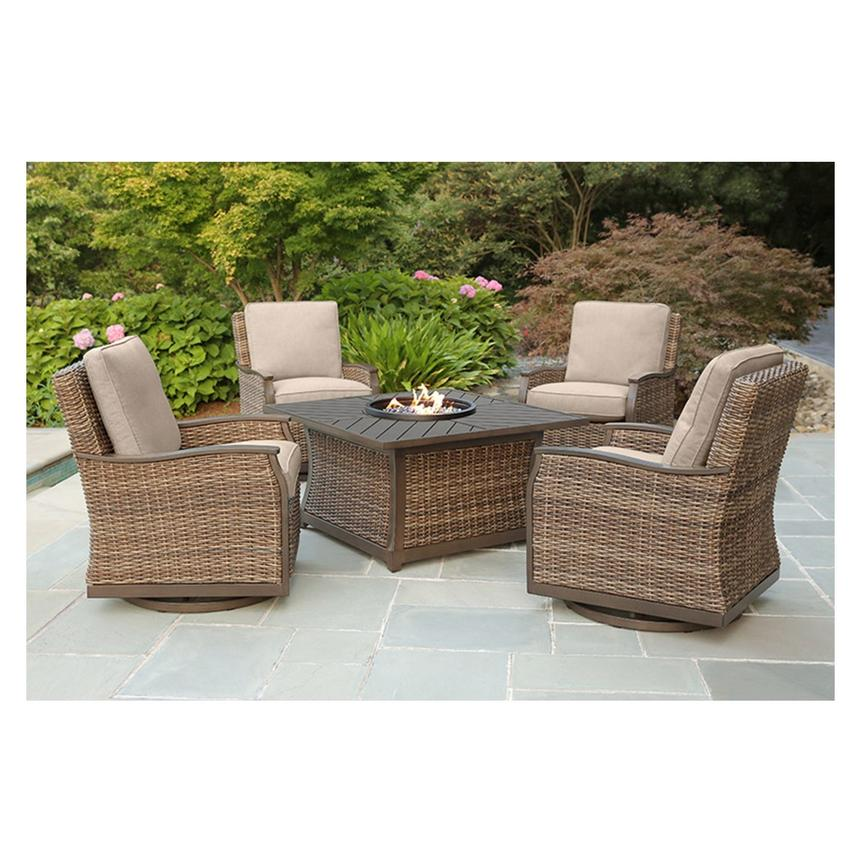 Trenton 5-Piece Patio Set  alternate image, 2 of 15 images.