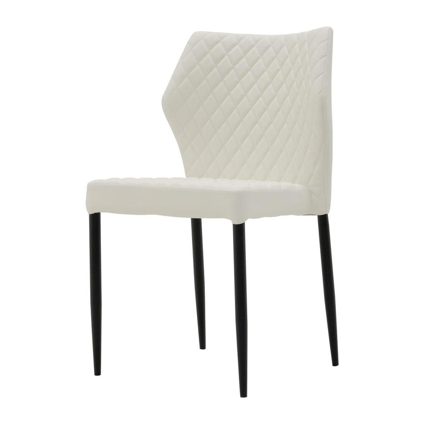 Zari White Side Chair  alternate image, 2 of 6 images.