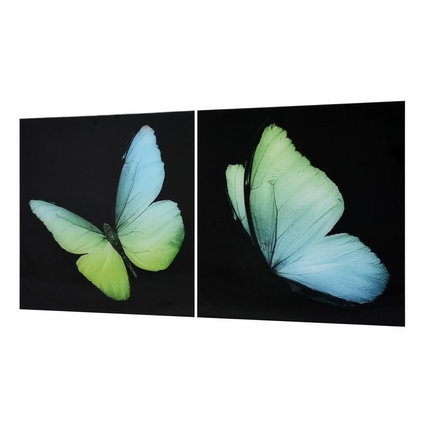 Wings Set of 2 Acrylic Wall Art  alternate image, 3 of 5 images.