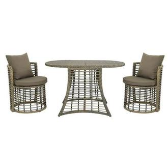 Neilina Brown 3-Piece Patio Bistro Set