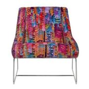 Tutti Frutti Multi Accent Chair w/2 Pillows  alternate image, 3 of 10 images.