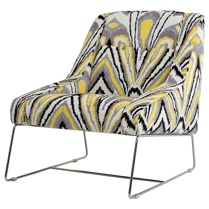 Tutti Frutti Yellow Accent Chair  alternate image, 2 of 7 images.