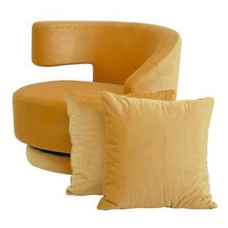 Awe Inspiring Andy Orange Swivel Accent Chair El Dorado Furniture Squirreltailoven Fun Painted Chair Ideas Images Squirreltailovenorg