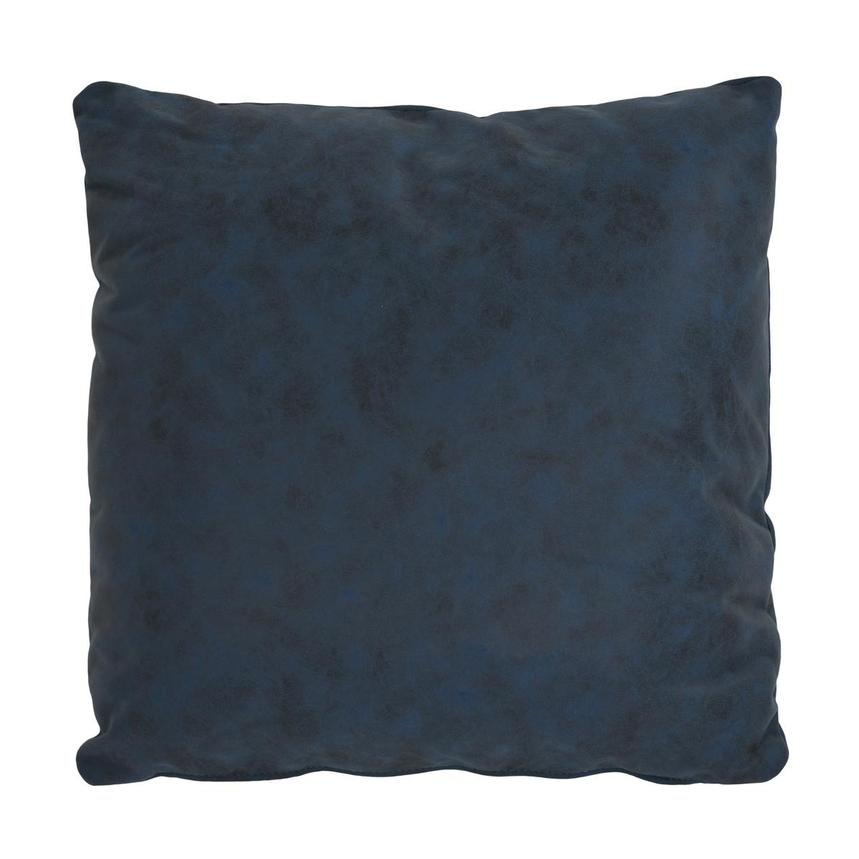 Okru Dark Blue Swivel Chair w/2 Pillows  alternate image, 8 of 10 images.