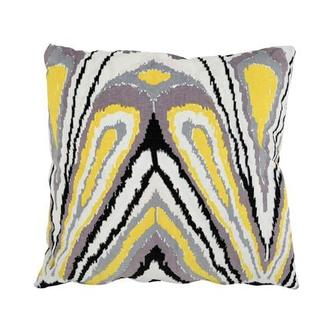 Tutti Frutti Yellow Accent Pillow