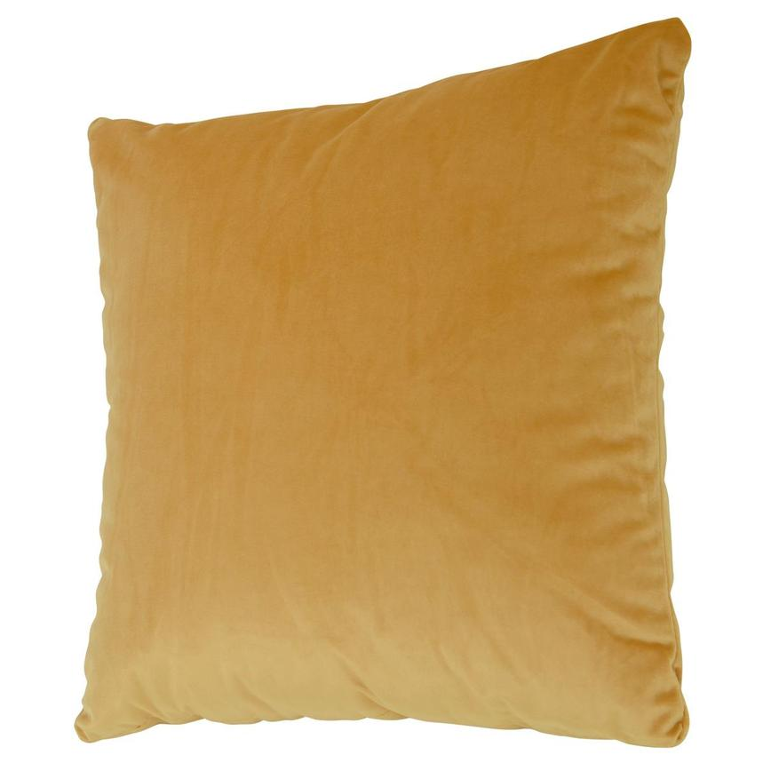 Okru Dark Yellow Accent Pillow  alternate image, 2 of 3 images.