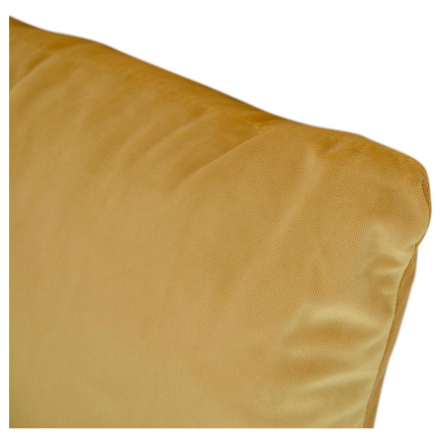Okru Dark Yellow Accent Pillow  alternate image, 3 of 3 images.