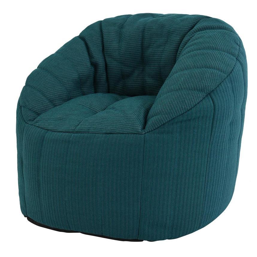 elements teal outdoor bean bag el dorado furniture. Black Bedroom Furniture Sets. Home Design Ideas