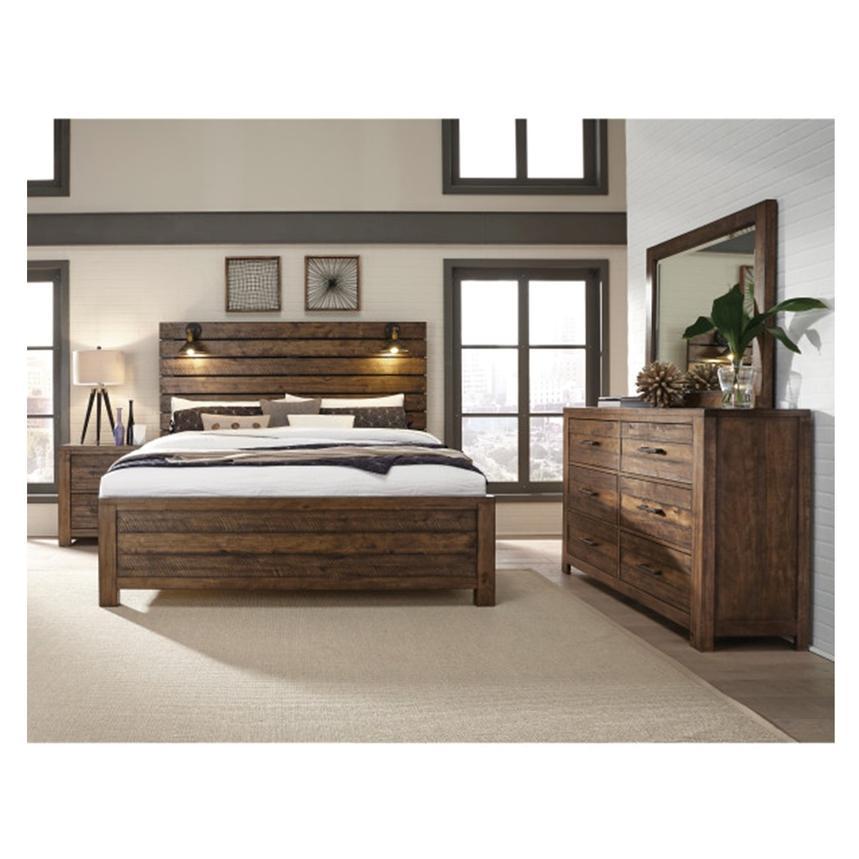 Dakota 4-Piece King Bedroom Set   El Dorado Furniture
