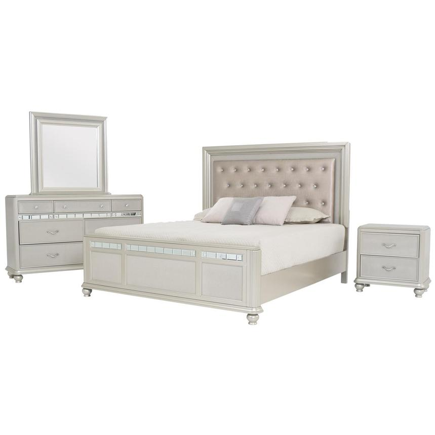 Kaleidoscope 4-Piece Queen Bedroom Set
