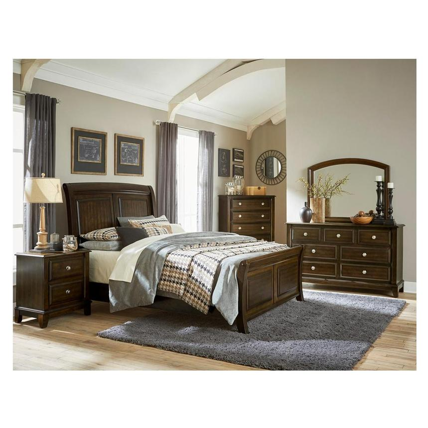 Samantha 4-Piece Queen Bedroom Set  alternate image, 2 of 6 images.