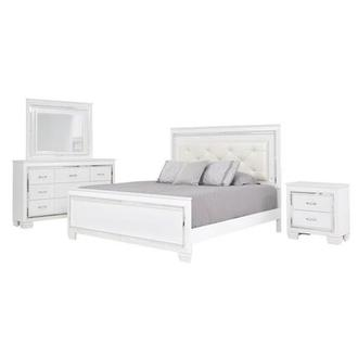 Mia 4-Piece King Bedroom Set