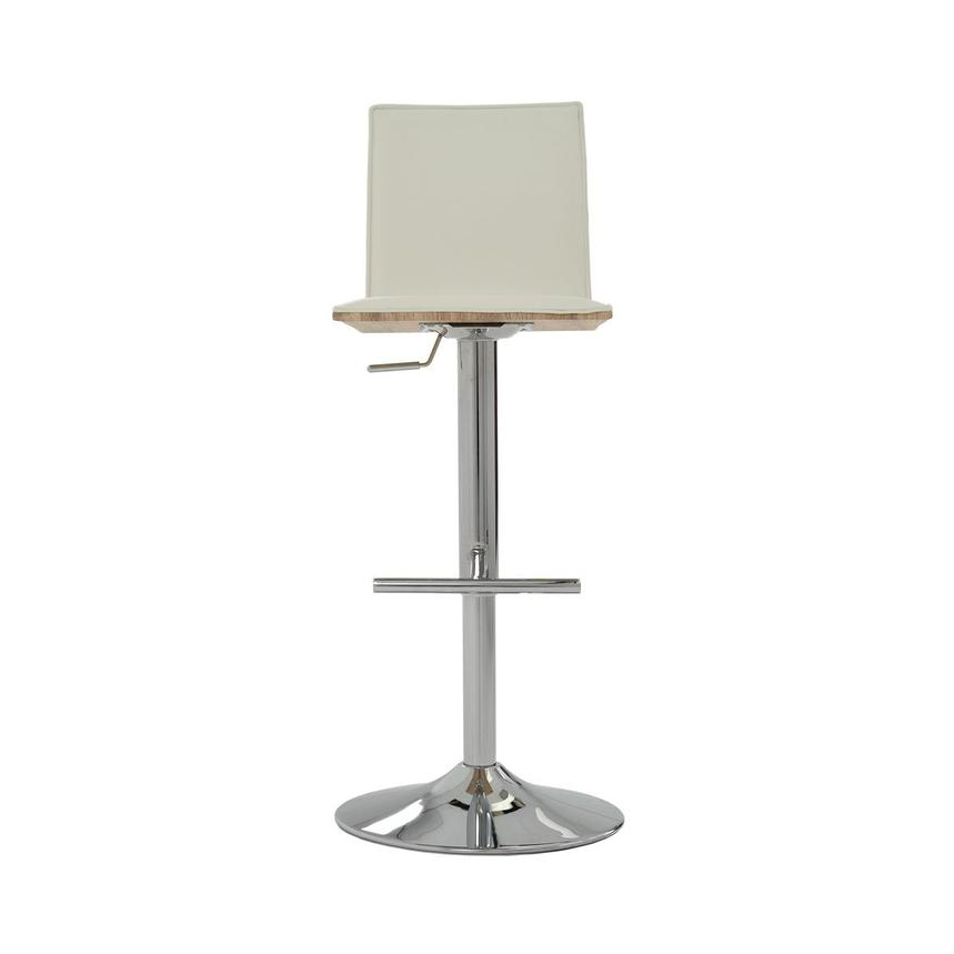 Solimar White Adjustable Stool  main image, 1 of 10 images.