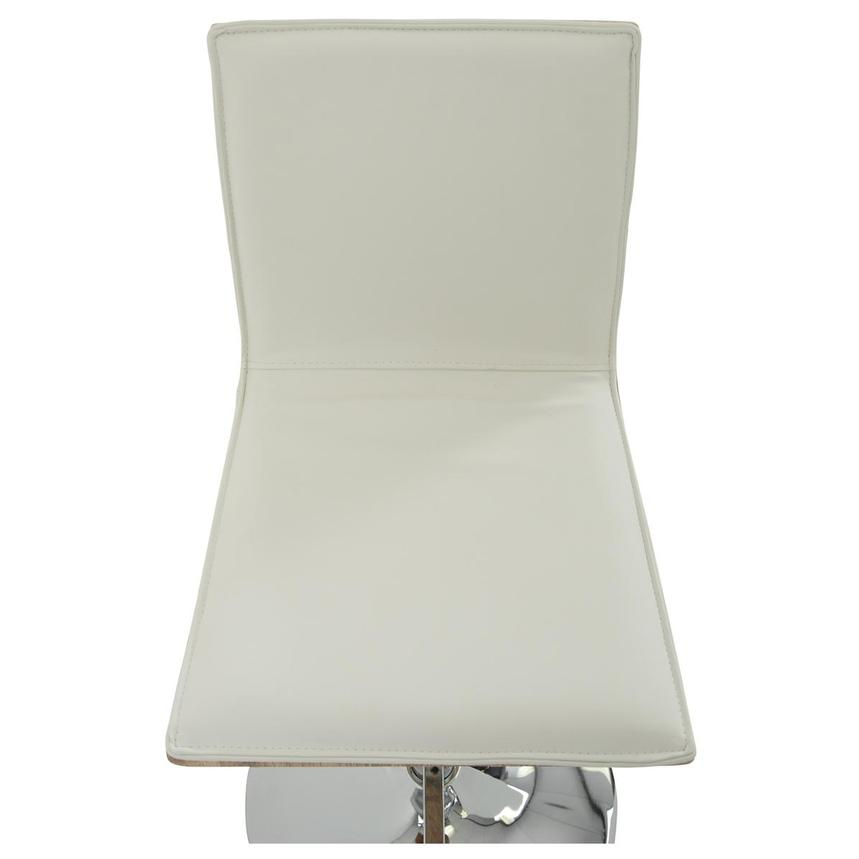 Solimar White Adjustable Stool  alternate image, 6 of 10 images.