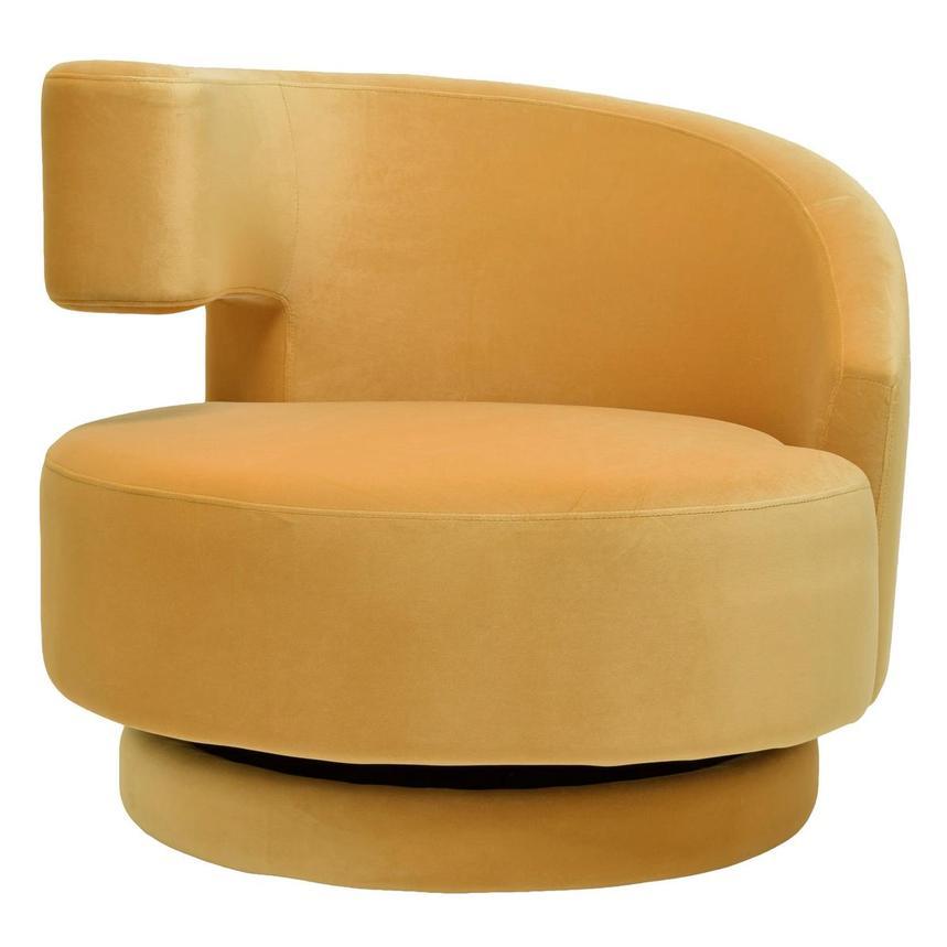 Marvelous Okru Dark Yellow Swivel Chair W 2 Pillows Bralicious Painted Fabric Chair Ideas Braliciousco