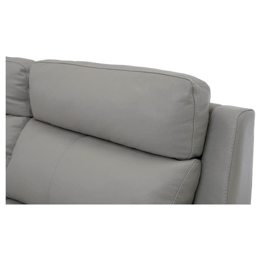Barry Gray Leather Power Reclining Sectional  alternate image, 7 of 11 images.