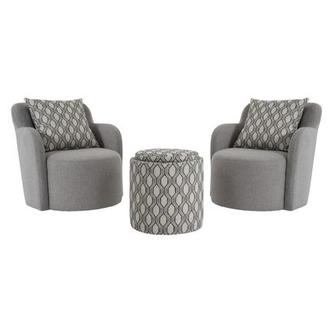 Joey Gray 5-Piece Living Set