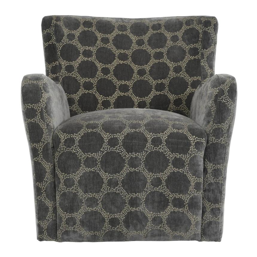 Everly Swivel Accent Chair w/2 Pillows  alternate image, 2 of 11 images.