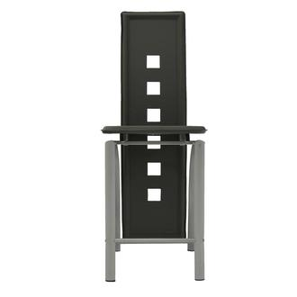 Dominoes Gray Counter Stool