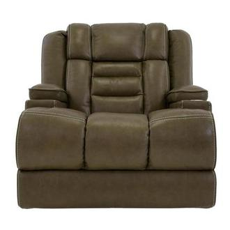 Damon Brown Power Motion Leather Recliner