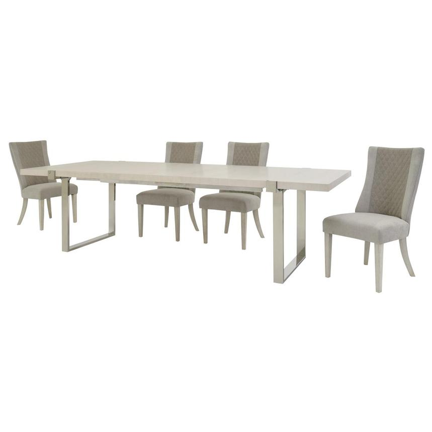 Paradox 5-Piece Formal Dining Set  alternate image, 3 of 14 images.