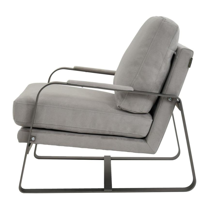 Isa Light Gray Accent Chair  alternate image, 3 of 6 images.