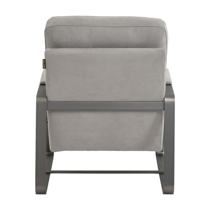 Isa Light Gray Accent Chair  alternate image, 4 of 6 images.