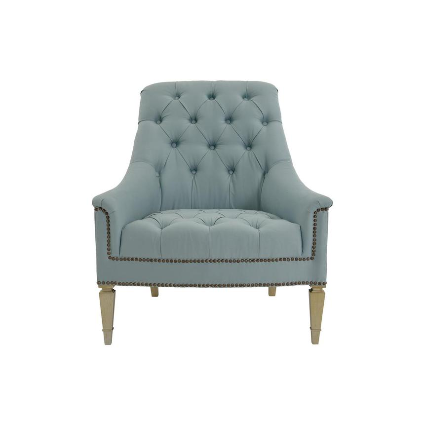 Kimberly Light Blue Accent Chair  main image, 1 of 8 images.