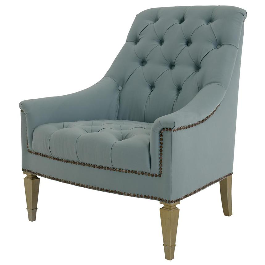 Kimberly Light Blue Accent Chair  alternate image, 2 of 6 images.