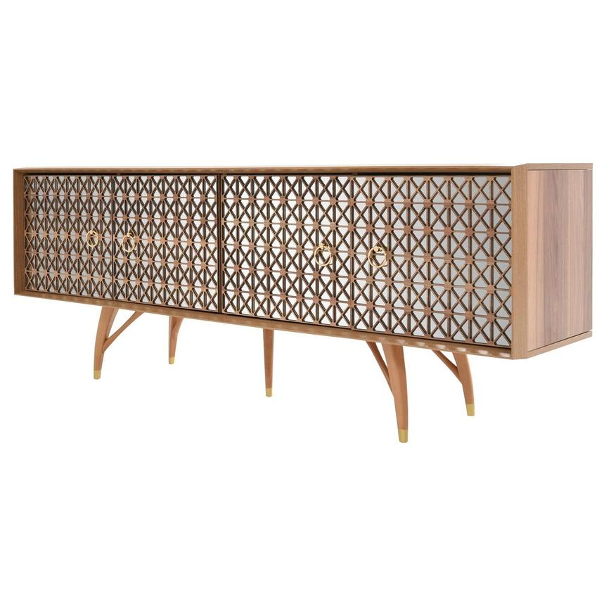 Lola Natural Console Table  alternate image, 3 of 9 images.