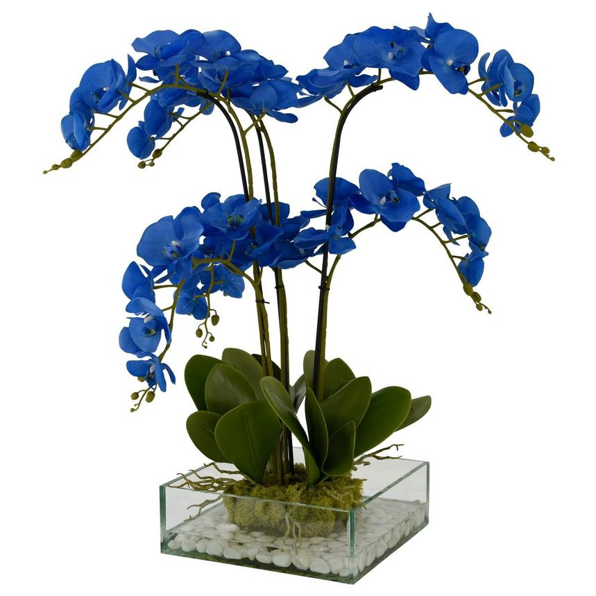 Bethany Blue Flower Arrangement  alternate image, 2 of 4 images.