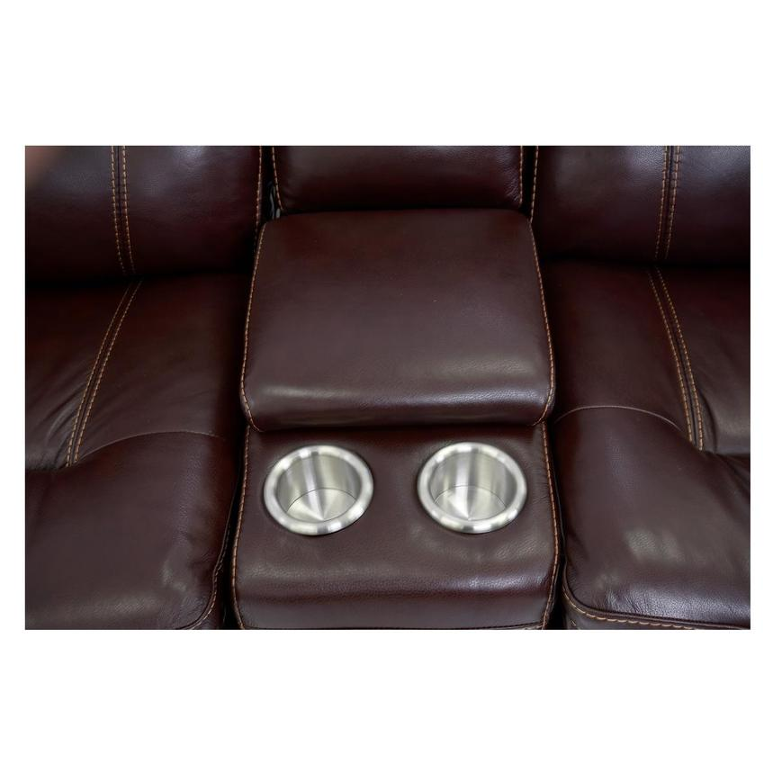 Napa Home Theater Leather Seating  alternate image, 7 of 8 images.