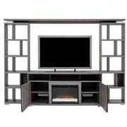Tivo Wall Unit w/Speaker & Faux Fireplace Made in Italy  alternate image, 2 of 6 images.
