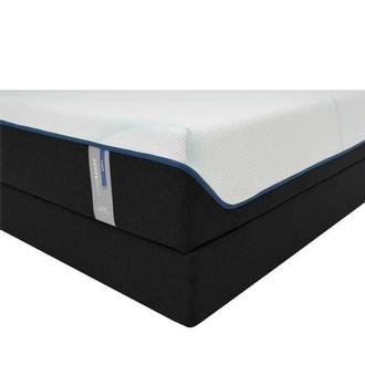 Luxe-Adapt Soft Queen Mattress w/Low Foundation by Tempur-Pedic